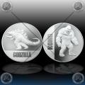 2 x 1oz Niue $2 Dollras 2021 (Godzilla vs. Kong) BU