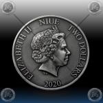 1oz NIUE 2 DOLLARS 2020 (DISNEY - LION KING) COLOR