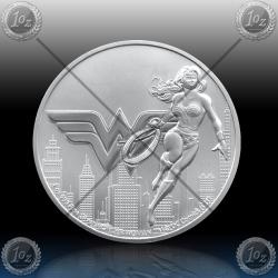 1oz NIUE $2 Dollars 2021 ( WONDER WOMAN™ ) UNC