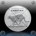 1oz AVSTRALIJA (RAM) 1 Dollar 2021 (CHEETAH) BU