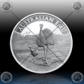 "1oz ""The Perth Mint"" 1 Dollar 2021 (Australian EMU) BU"