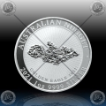 1oz AUSTRALIJA $1 (AUSTRALIEN NUGGET) 2021 *BU