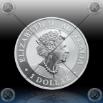 1oz $1 Dollar 2021 (KOOKABURRA) BU