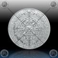 "1oz MEHIKA Silver Round ""AZTEC CALENDAR"" UNC"