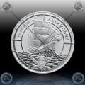 1oz SOLOMON ISLANDS $2 Dollras 2021 (Pirate Queens - ANNE BONNY) BU