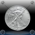 """1oz ZDA $1 Dollar 2021 """"AMERICAN Silver Eagle"""" UNC"""