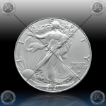 "1oz ZDA $1 Dollar 2021 ""AMERICAN Silver Eagle - Type 2"" UNC"