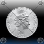 1oz NIUE 2 DOLLARS 2021 (DISNEY - Hakuna Matata ) UNC