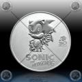1oz NIUE $2 Dollars 2021 (Sonic the Hedgehog™) BU