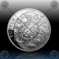 "1oz NIUE ""TURTLE"" 2 Dollars 2014"