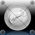 "1/2 oz ""The Perth Mint"" 50 Cents 2015 ""Hammerhead"" UNC"