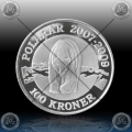 "1oz DANSKA 2007 ""POLARNI MEDVED"" PROOF"