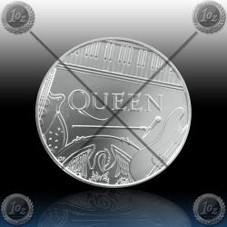 UK / V. BRITANIJA 5 Pounds 2020 (QUEEN) BU