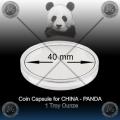 Originalne KAPSULE za kitajske PANDA kovance 40mm