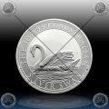 "1oz ""The Perth Mint"" 1 Dollar 2017 (Australian SWAN) BU"