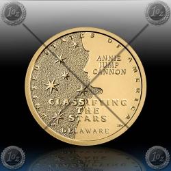 ZDA 1 Dollar 2019 (American Innovation - Delaware / Stars) P+D