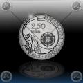 "2.50 EVRO PORTUGALSKA  2012 ""Sagres"""