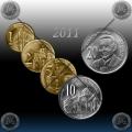 SRBIJA SET kovancev 2011