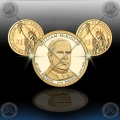 "ZDA $1 (25th. President) 2013 P+D ""William McKinley"""