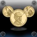 """ZDA $1 (30th President) 2014 P + D """"Calvin Coolidge"""""""