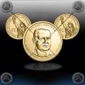 """ZDA $1 (31th President) 2014 P + D """"Herbert Hoover"""""""