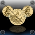 ZDA 1 Dollar (Sacagawea) 2013 P+D