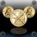 ZDA 1 Dollar 2014 (Sacagawea) P+D