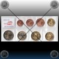AVSTRIJA SET kovancev 2019 (1 Cent - 2 Euro) UNC