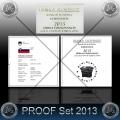 PROOF SET (10 kovancev) SLOVENIJA 2013