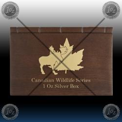 KASETA KANADA Wildlife serie I (za srebrnike 1oz)