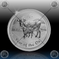 "1/2 oz LUNAR II - 2009  ""Year of the Ox"""