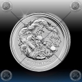 "1/2 oz LUNAR II - 2012  ""Year of the Dragon"""