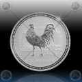 1oz LUNAR I - 2005 Year of  Rooster