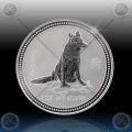 1oz LUNAR I - 2006 Year of  Dog