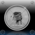 1oz LUNAR I - 2009  Year of Ox