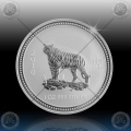 1oz LUNAR I - 2010  Year of Tiger