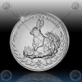 1oz  SOMALILAND 2011 (Year of the Rabbit)