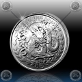 1oz  SOMALILAND 2012 ( Year of the Dragon )