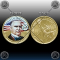"ZDA $1 (25th. PRESIDENT) 2013 ""WILLIAM MCKINLEY"" BARVNI"