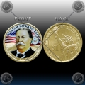 "ZDA $1 (27th. PRESIDENT) 2013 ""WILLIAM HOWARD TAFT"" BARVNI"